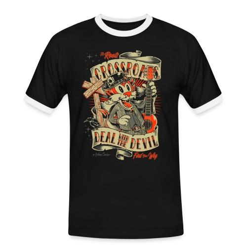 Cruce - Camiseta contraste hombre
