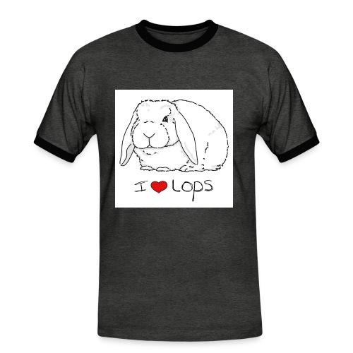 I Love Lops 2 - Men's Ringer Shirt