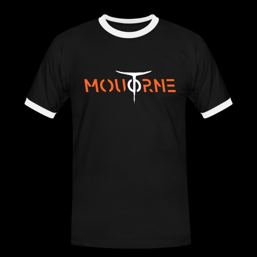 Moutorne fashion one - T-shirt contrasté Homme
