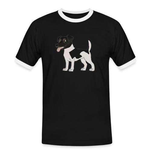 CHARLIE gif - Männer Kontrast-T-Shirt