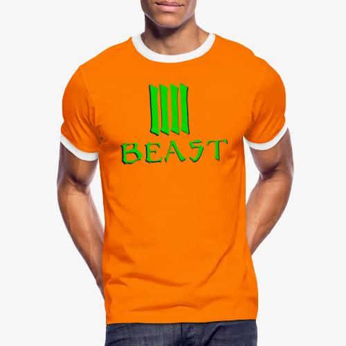 Beast Green - Men's Ringer Shirt