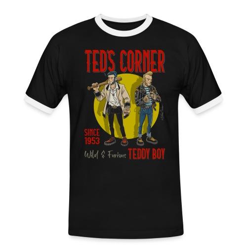 El rincón de Ted salvaje y furioso - Camiseta contraste hombre