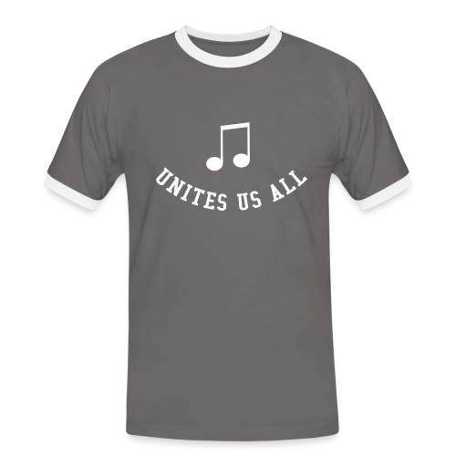 Music Unites Us All Shirt - Men's Ringer Shirt
