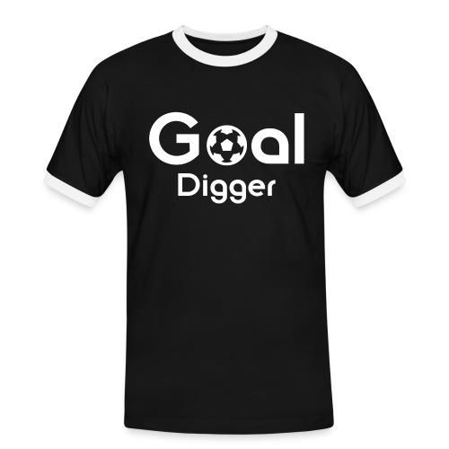 Goal Digger 2 - Men's Ringer Shirt