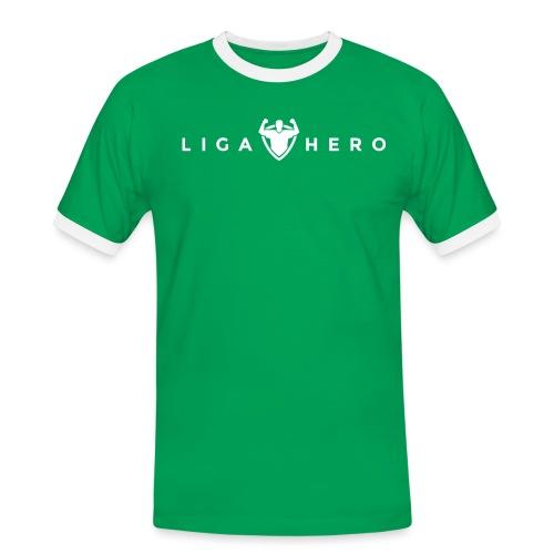 tshirt logo white png - Männer Kontrast-T-Shirt