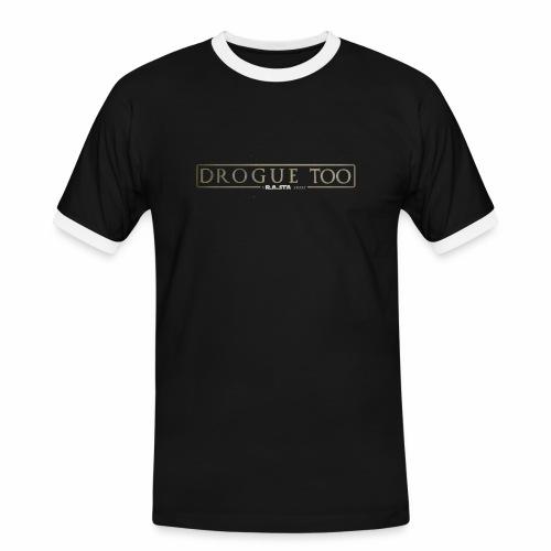 drogue too - T-shirt contrasté Homme