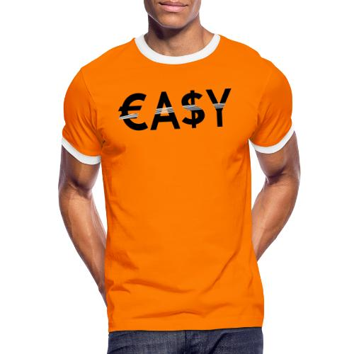 EASY - Camiseta contraste hombre