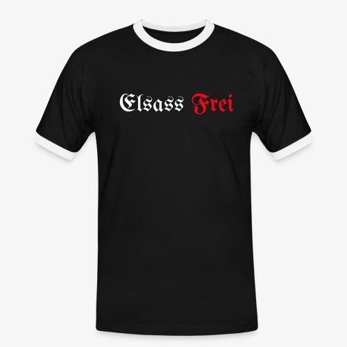 Elsass Frei - T-shirt contrasté Homme