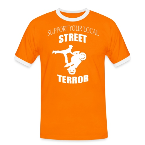 Streetterror Support - Miesten kontrastipaita