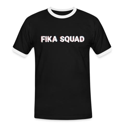 Fika Squad - Kontrast-T-shirt herr