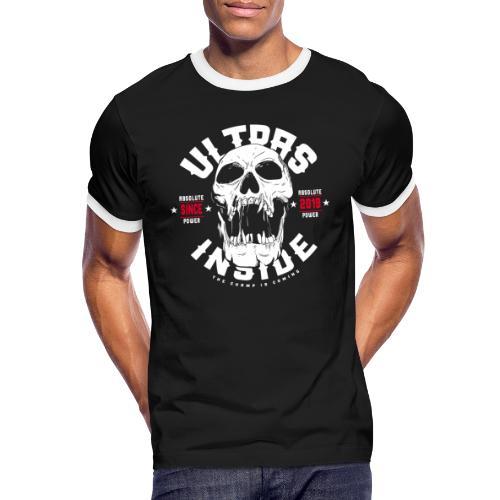 Ultras Inside - Männer Kontrast-T-Shirt