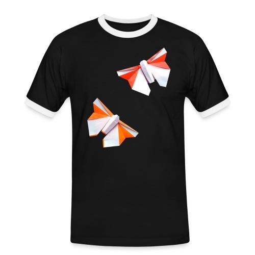 Butterflies Origami - Butterflies - Mariposas - Men's Ringer Shirt