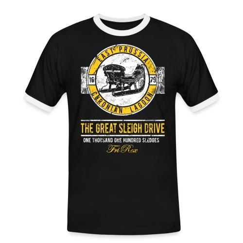 FriRex Schlittenfahrt - Männer Kontrast-T-Shirt