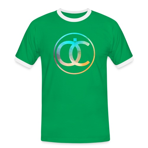 OliC Clothes Special - Herre kontrast-T-shirt