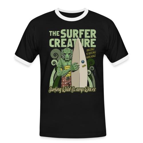 La criatura surfista - Camiseta contraste hombre