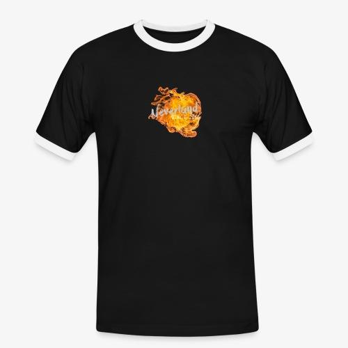 NeverLand Fire - Mannen contrastshirt
