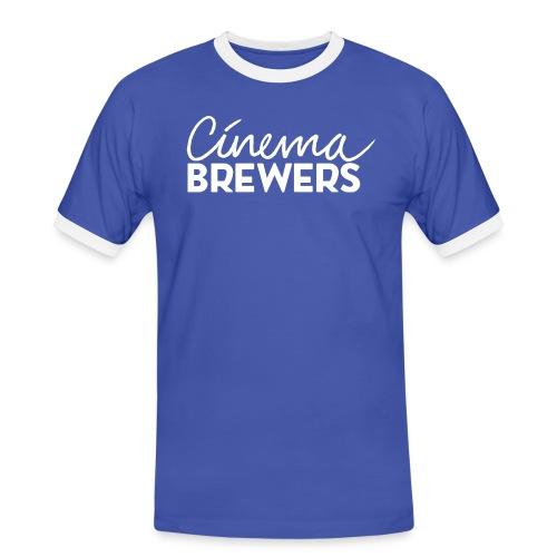 Cinema Brewers - Mannen contrastshirt