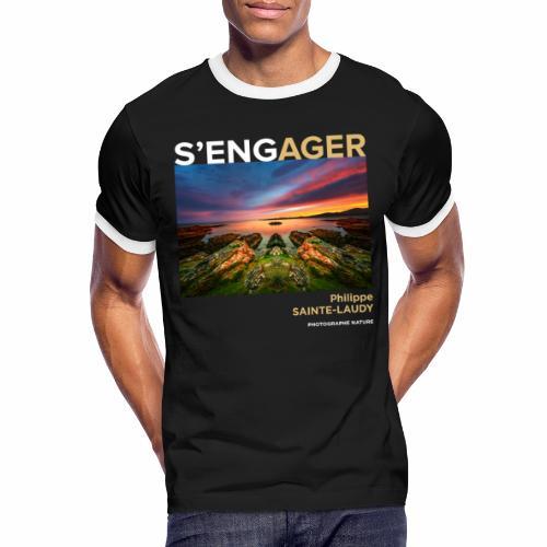 1 Achat = 1 Don à l'association Coeur de forêt - T-shirt contrasté Homme