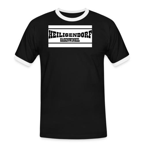 hasenwinkel - Männer Kontrast-T-Shirt