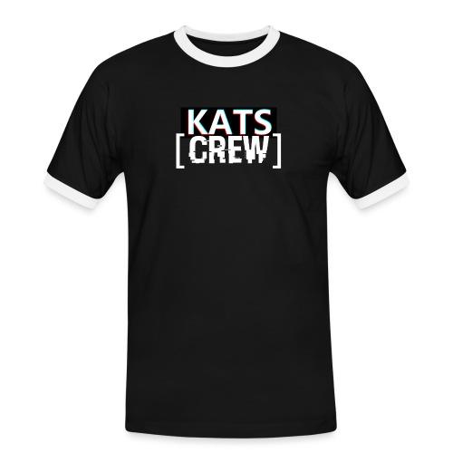 KATS CREW Logo - Koszulka męska z kontrastowymi wstawkami