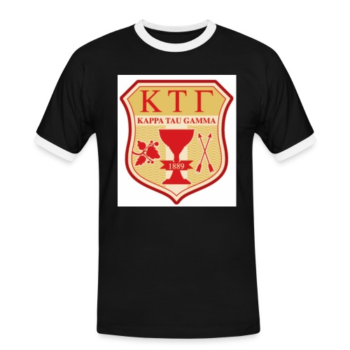 kappa tau gamma - T-shirt contrasté Homme