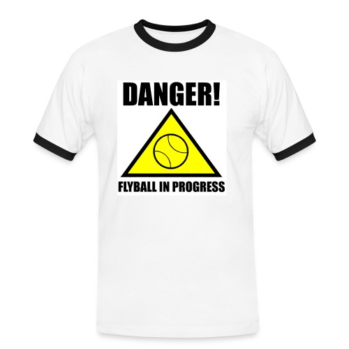 dangerflyballtee - Men's Ringer Shirt