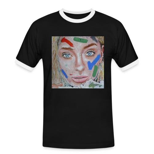 Anna - Maglietta Contrast da uomo