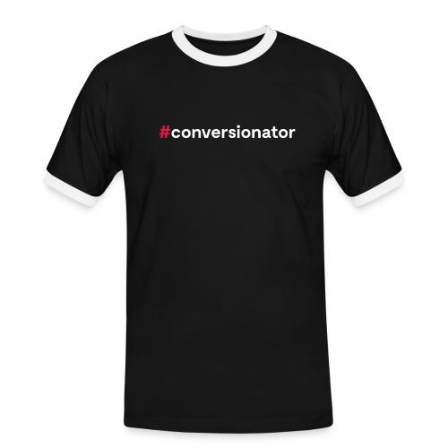 #Conversionator - Männer Kontrast-T-Shirt
