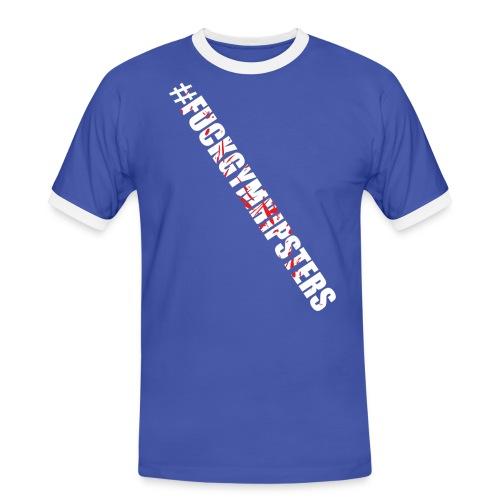 fgh - Koszulka męska z kontrastowymi wstawkami