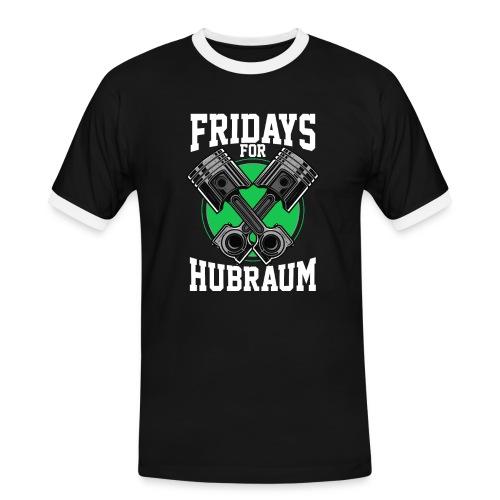 Fridays For Hubraum - Männer Kontrast-T-Shirt