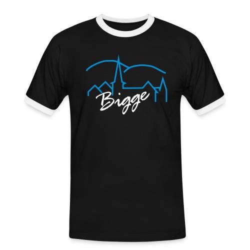 biggetshirtdruck - Männer Kontrast-T-Shirt
