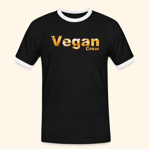 Orange Camo - Men's Ringer Shirt