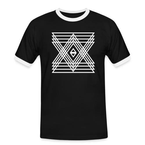 INDIE - Männer Kontrast-T-Shirt