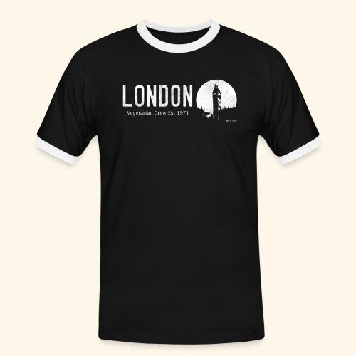London Vegetarian Crew - Men's Ringer Shirt