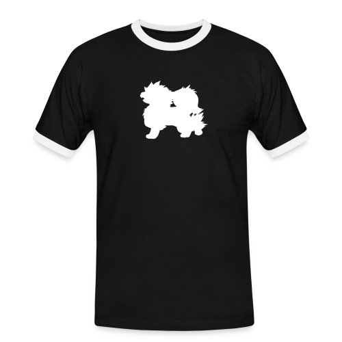 All white Arcanine Merch - T-shirt contrasté Homme