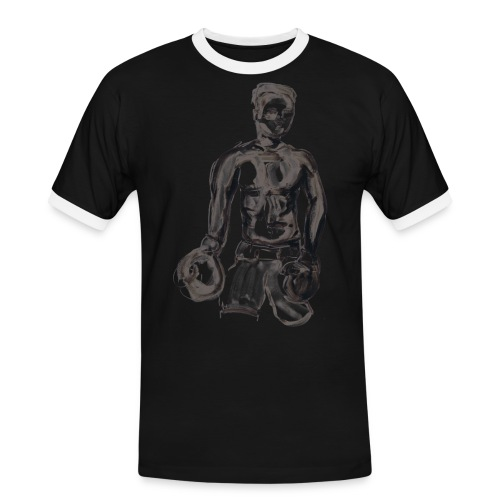 Muhammed Ali - T-shirt contrasté Homme