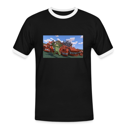 novaskin wallpaper 16 png - Männer Kontrast-T-Shirt