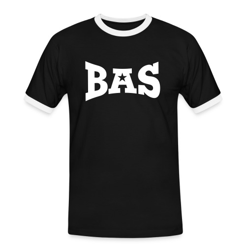 bas3 - Männer Kontrast-T-Shirt