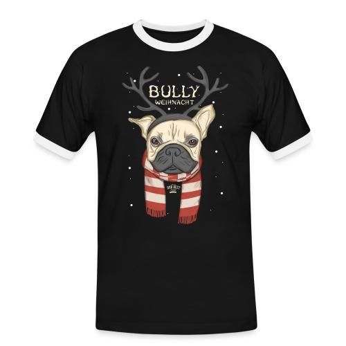 Bully Weihnacht - Männer Kontrast-T-Shirt