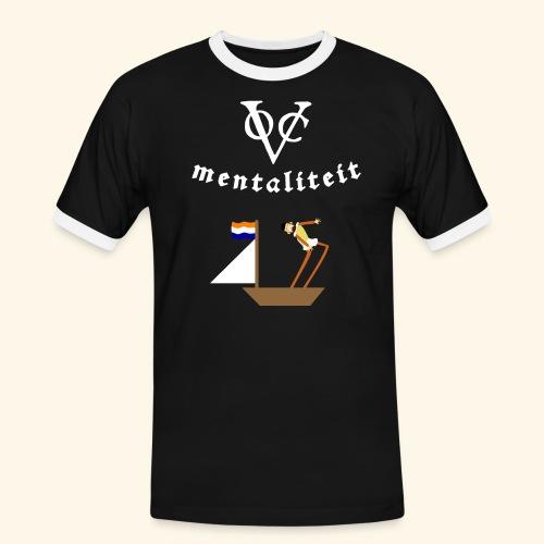 VOC-mentaliteit - Mannen contrastshirt