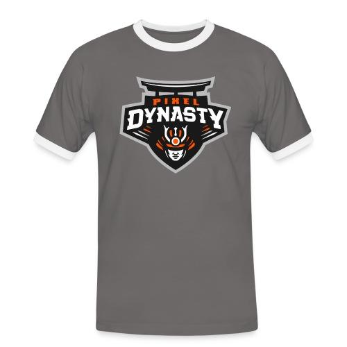 logo transparent - Men's Ringer Shirt