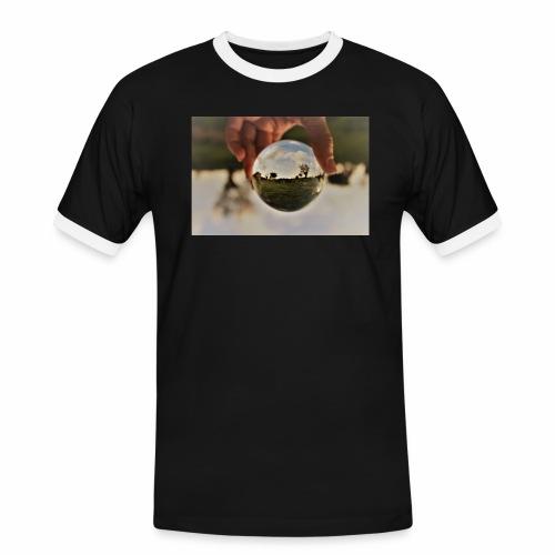 campagne salentine - Maglietta Contrast da uomo