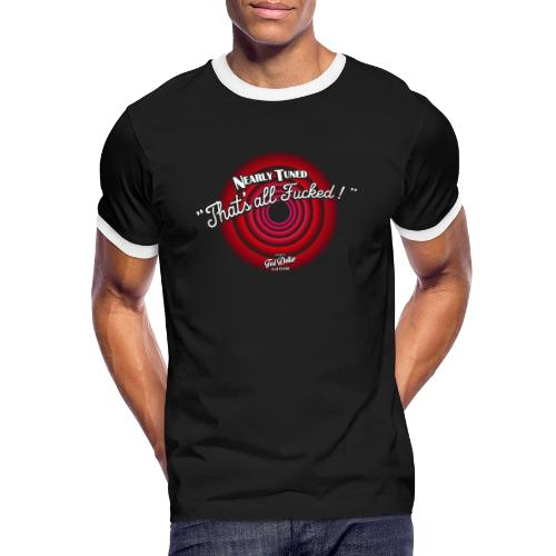 That's all Fucked - T-shirt contrasté Homme