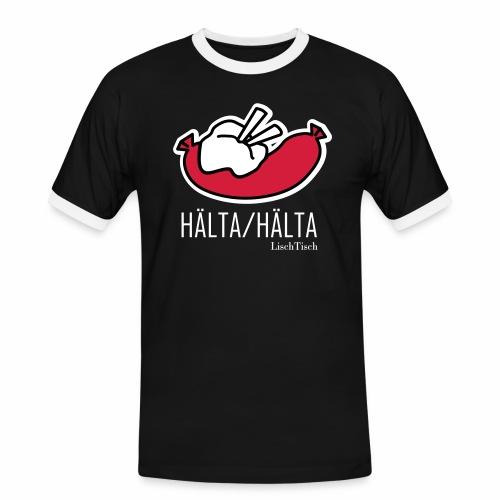 Hälta Hälta - Kontrast-T-shirt herr