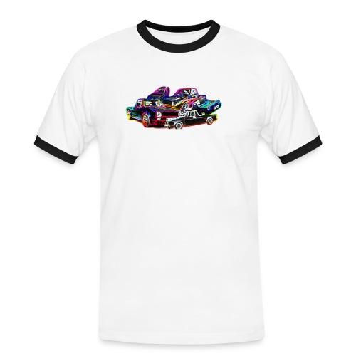 caddyfleck lasvegas - Männer Kontrast-T-Shirt