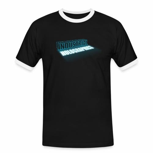 Industrial Holographics - Männer Kontrast-T-Shirt