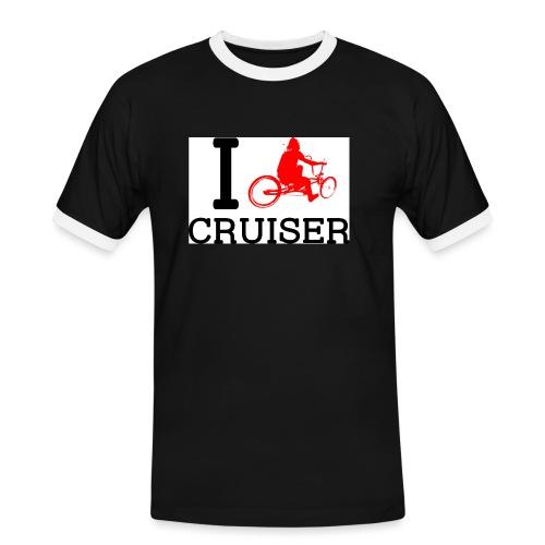 icruiser - T-shirt contrasté Homme