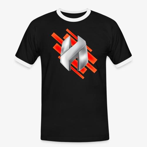 Abstract Red - Men's Ringer Shirt