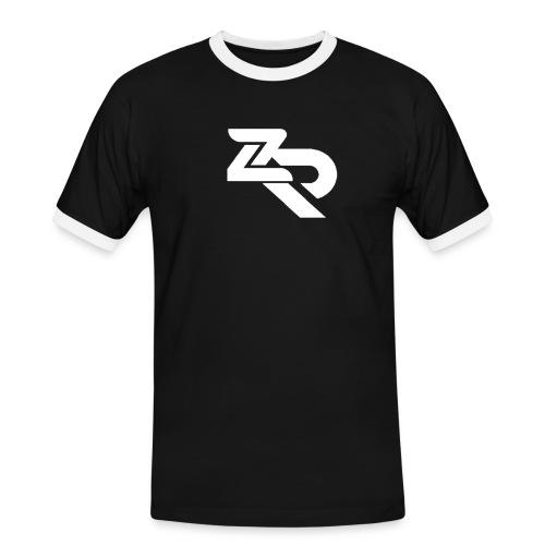 ZR Hoodie - Herre kontrast-T-shirt