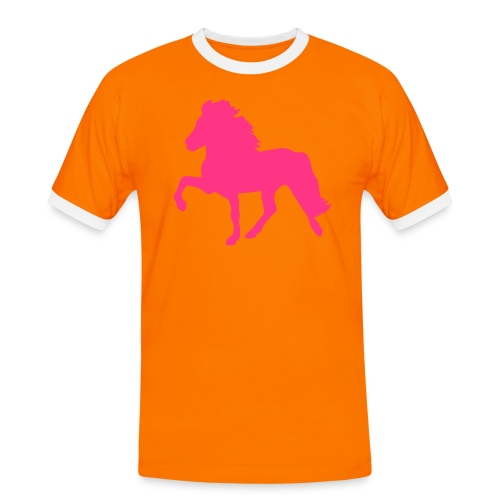 Tölter - Männer Kontrast-T-Shirt